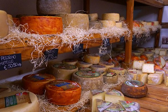 Cheese Tuscany