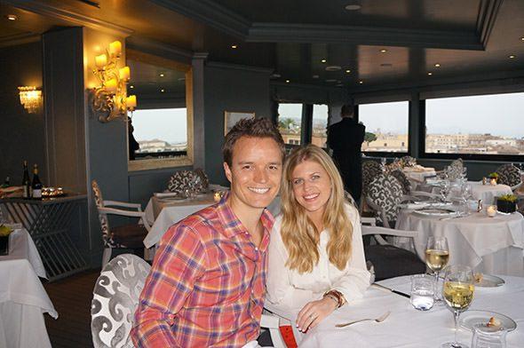 Molly and Dave Hotel Eden