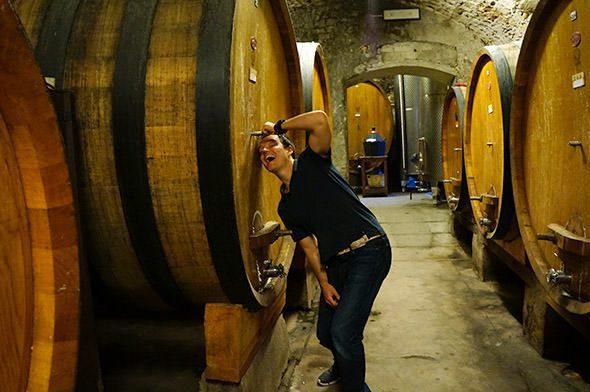 Dave Wine Barrels
