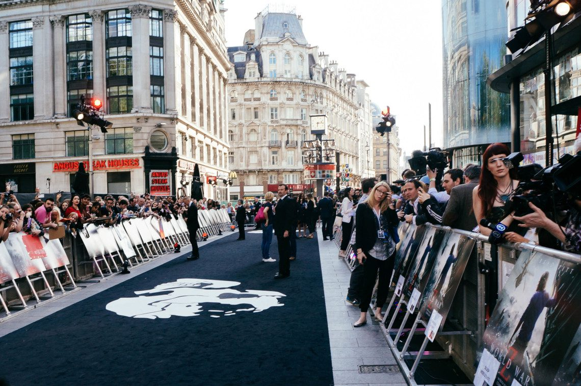 An insider's look at the World War Z Premiere London.