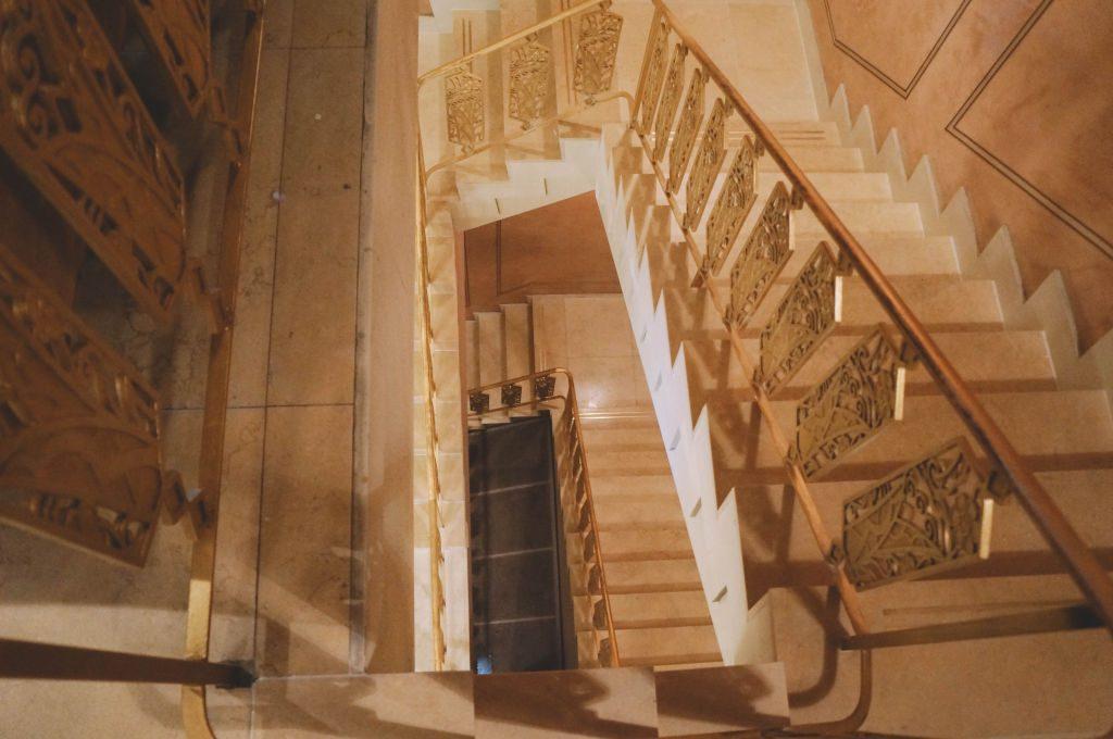 Sunset Tower Stairway