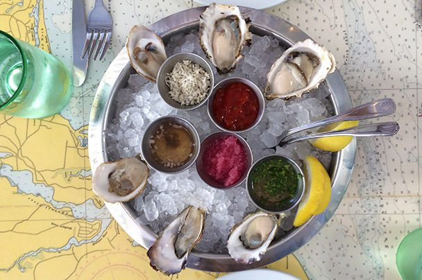 Oysters at Blue Plate Oysterette