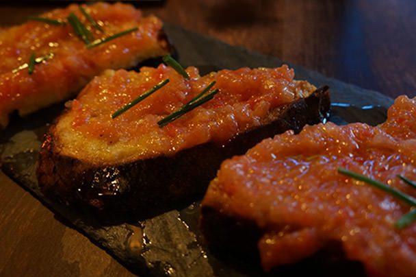 Smoke Oil Salt Tomato Bread