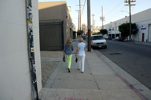 Walking into Zinc