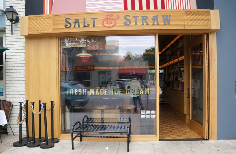 In the mood for some gourmet ice cream? Salt & Straw on Larchmont Blvd is one of the best ice cream shops in LA.