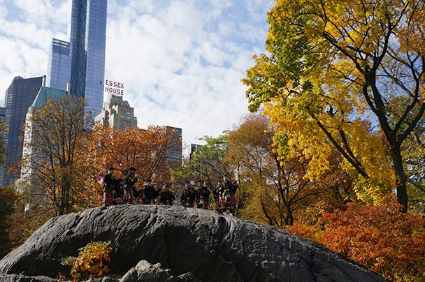 Bag Pipes Central Park