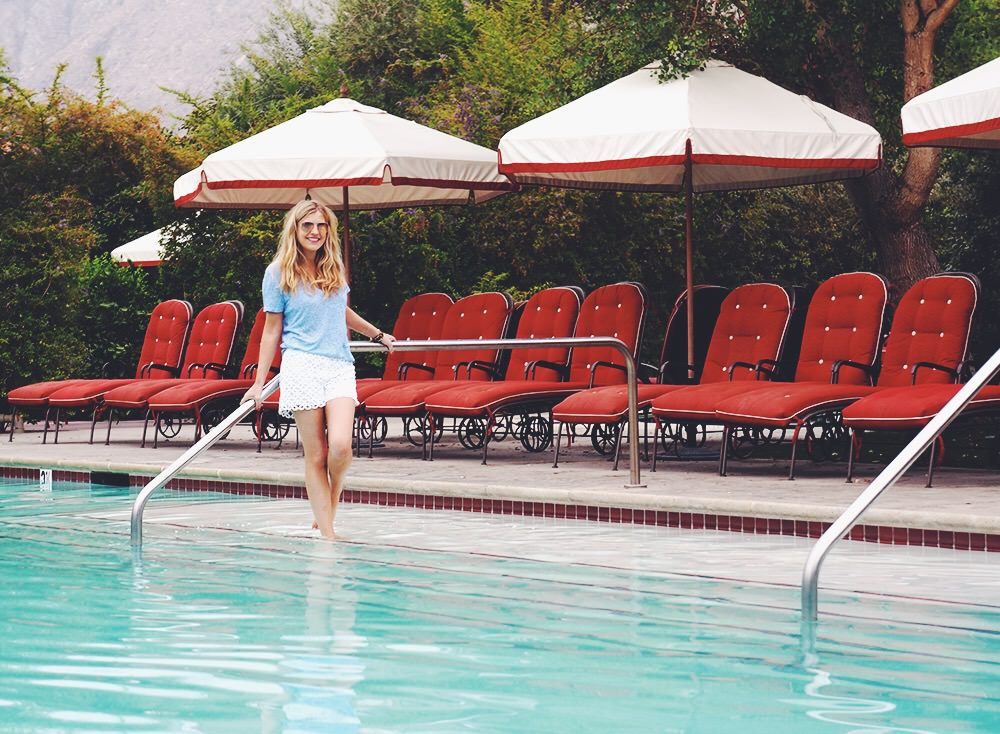 The Colony Palms is a luxury boutique hotel in Palm Springs perfect for a romantic getaway from Los Angeles.