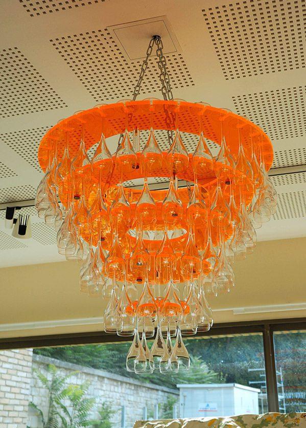 Veuve chandelier