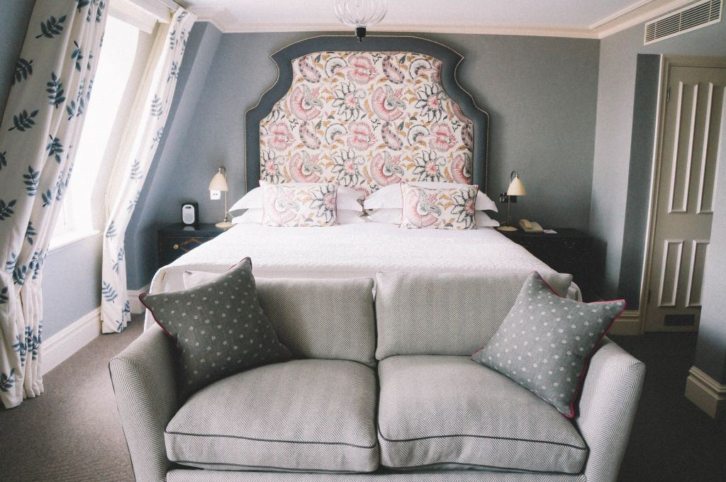 The Charlotte Street hotel is a stylish and chic hotel located in Fitzrovia, a darling neighborhood in west London. This is a great option if you are looking for a hip hotel in London.