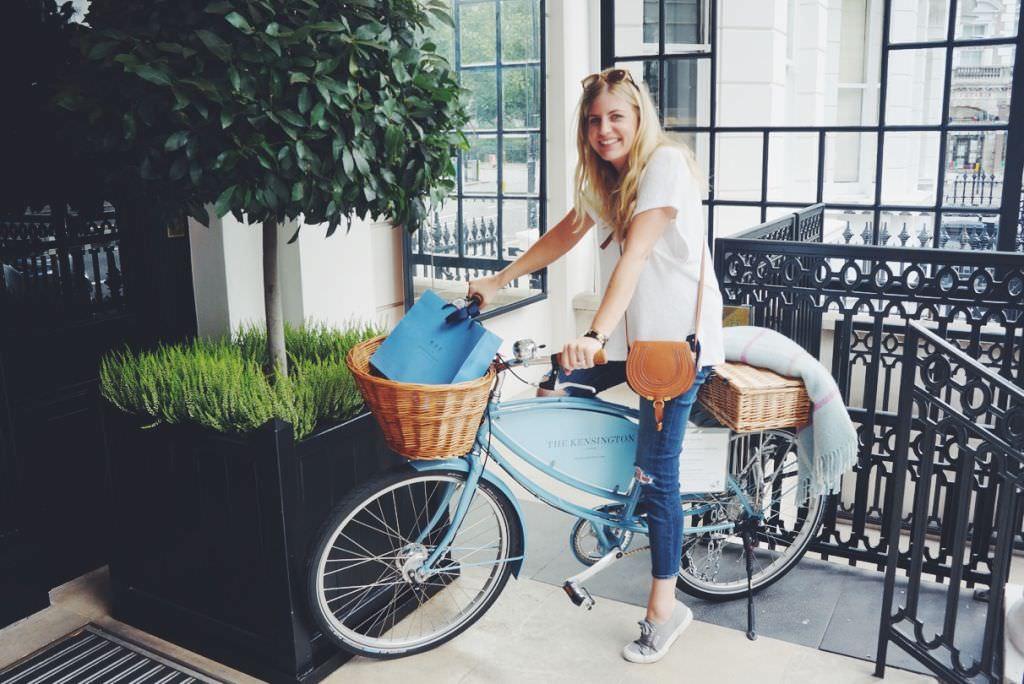 Molly at Kensington Hotel