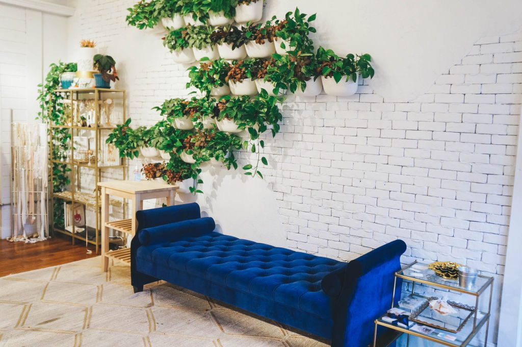 Blue Chaise