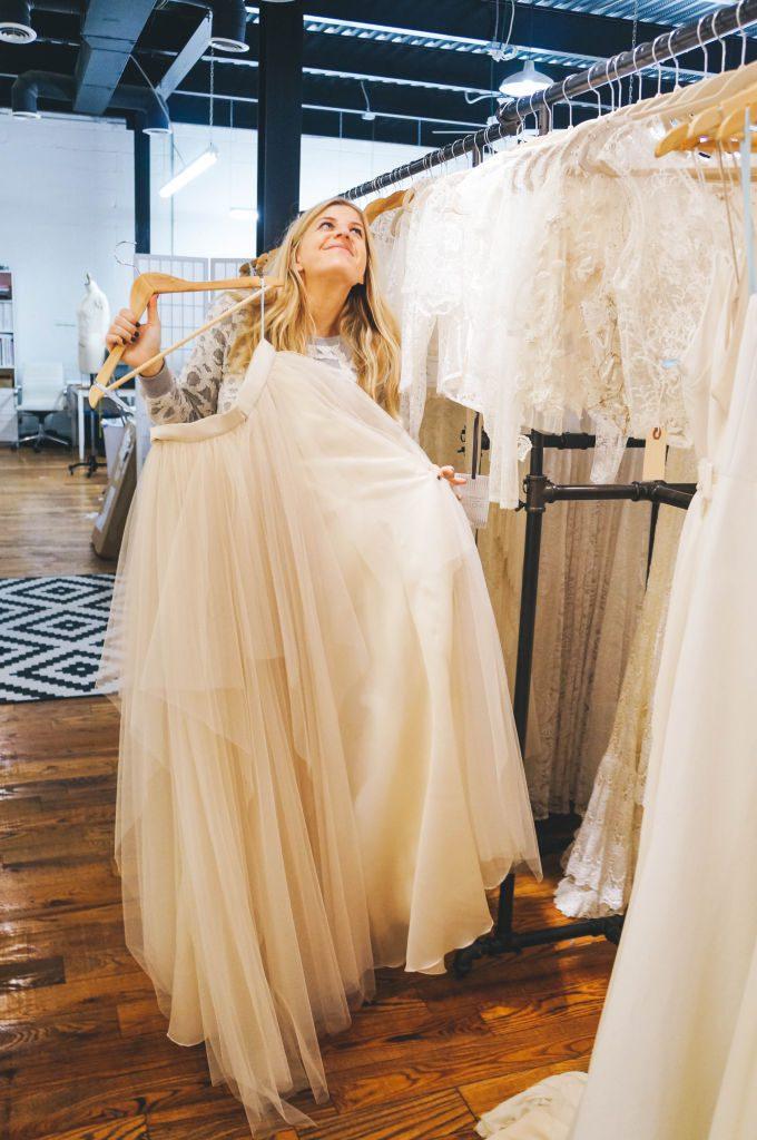 Molly wedding gown