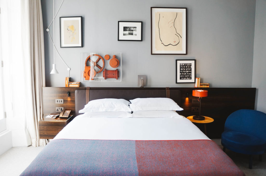 The Laslett is a hip hotel in London located in charming Notting Hill.