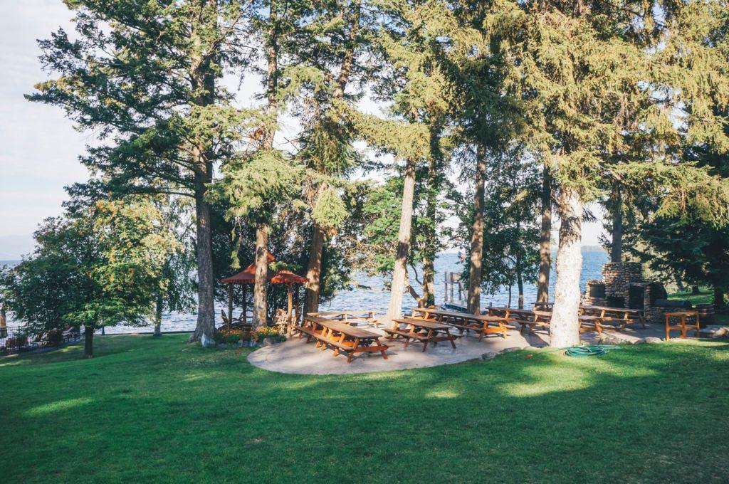 Go inside Averill's Flathead Lake Lodge, a dude ranch in Montana.