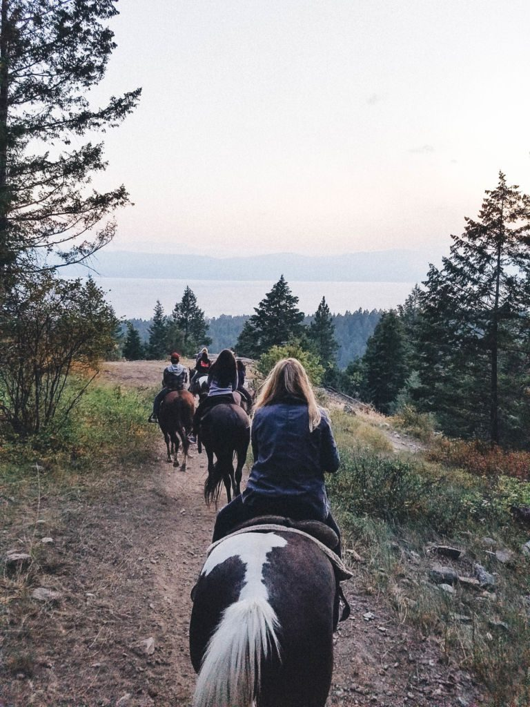 Ever wondered what it would be like to visit a dude ranch? Go inside Averill's Flathead Lake Lodge, located in Bigfork, Montana.