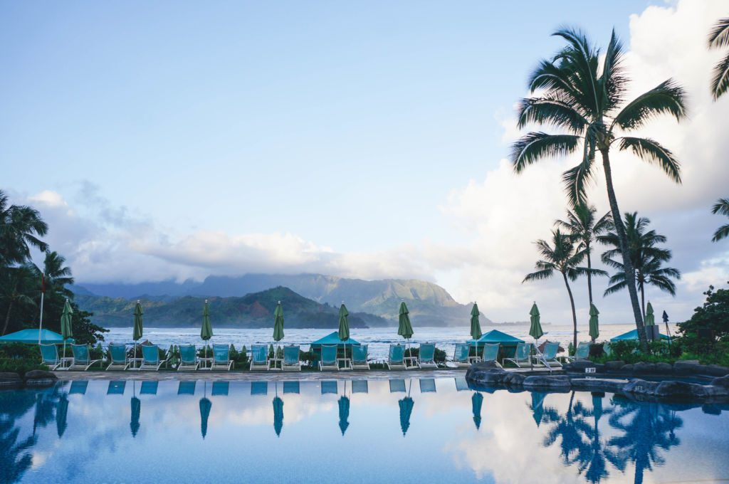 A look at the luxury St. Regis Princeville Hotel, a great option for staying on Kauai's North Shore.