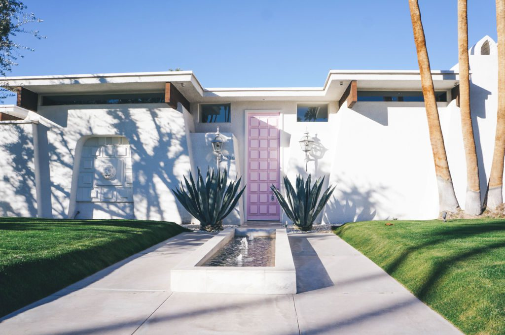 A celebration of the architecture in Palm Springs, celebrating Modernism Week, the popular week that celebrates Midcentury Modern design.