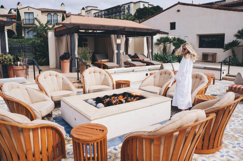 A romantic getaway in Southern California.