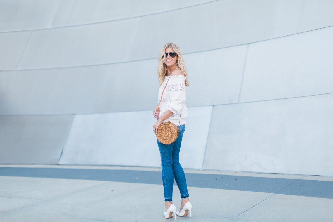 This Yuppie Life showcasing the Round Basket Trend for summer in Los Angeles.