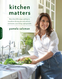 Kitchen Matters by Pamela Salzman is the best clean eating cookbook for weeknight cooking.