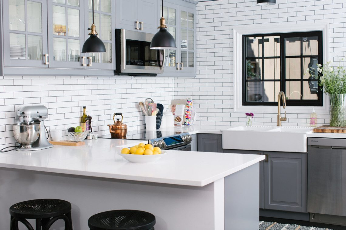 Tips on an a complete condo remodel + before and after photos of a top to bottom condo renovation.
