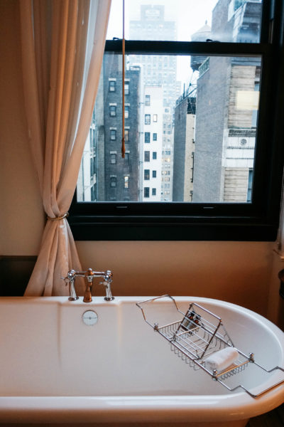 A review of the NoMad Hotel, a luxury boutique hotel in NYC. Located near Madison Square Park, find out everything you need to know before you book.