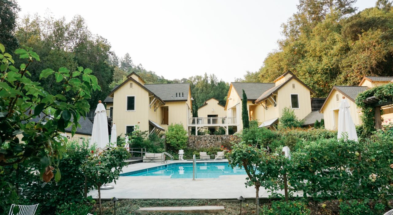 Farmhouse Inn is a luxury boutique hotel in Sonoma with a Michelin star restaurant